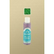Green Glitter paint