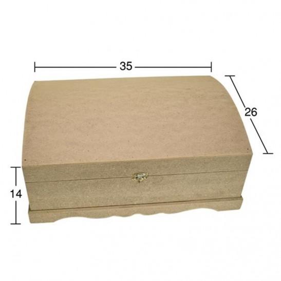 Κουτί μπαουλάκι 35X26X14 εκ