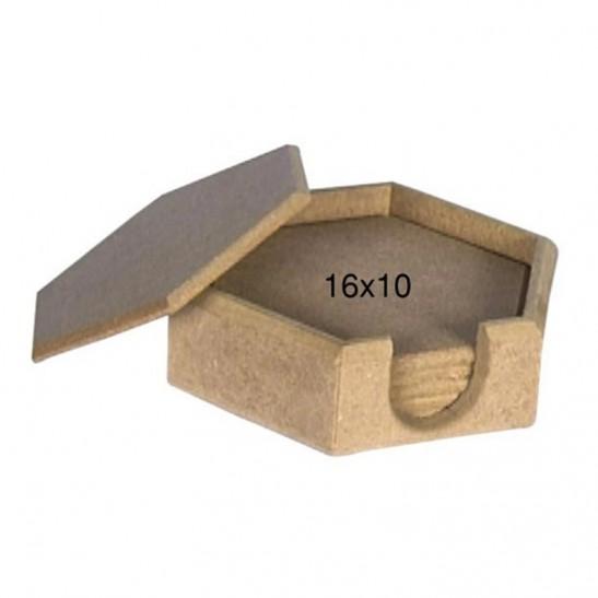 Ξύλινα σουβέρ 16X10 εκ.