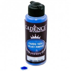 Velvet Powder Sax blue