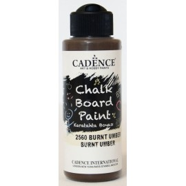 Burnt Umber - Chalk Board Paint