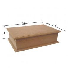 Ορθογώνιο κουτί 25X18X8