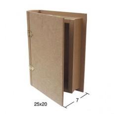 Κουτί βιβλίο 25X20X7