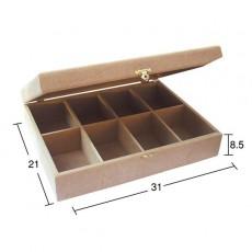 Κουτί με 8 χωρίσματα