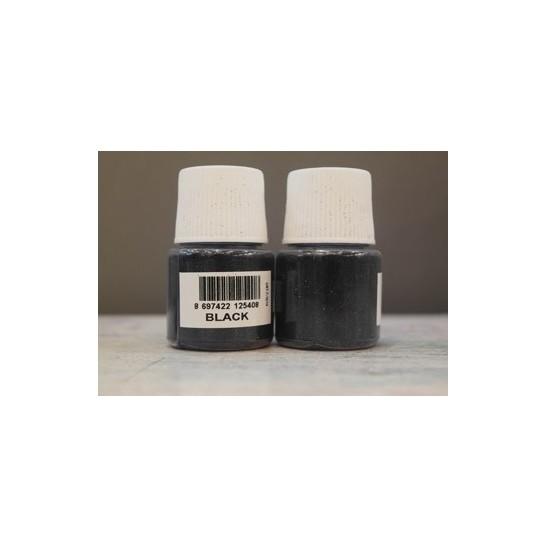 Black glitter cadence