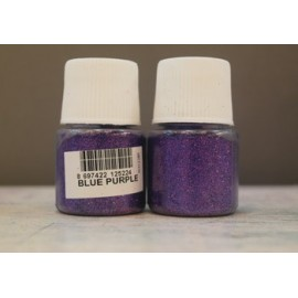 Blue purple glitter cadence