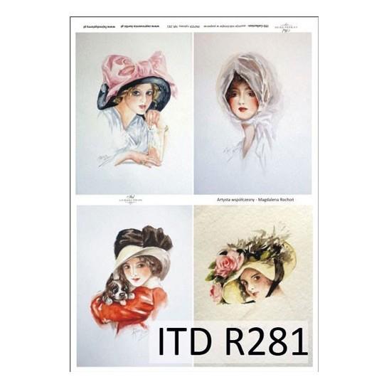 Ριζόχαρτο ITD Collection, 21x29cm R281