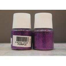 purple glitter cadence