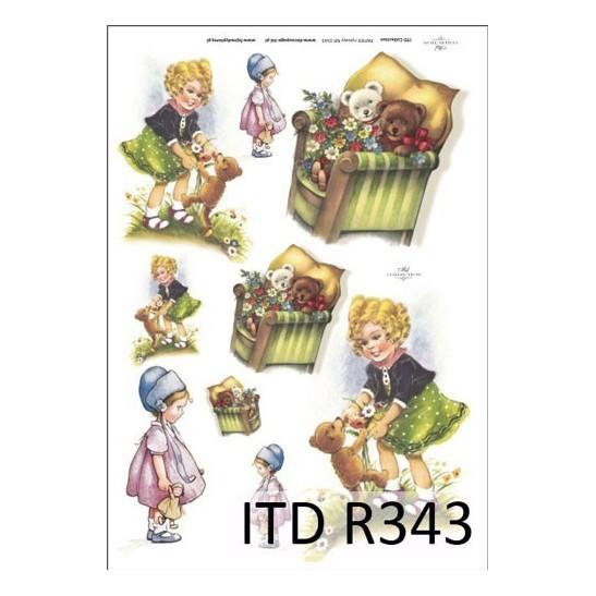 Ριζόχαρτο ITD Collection, 21x29cm R343