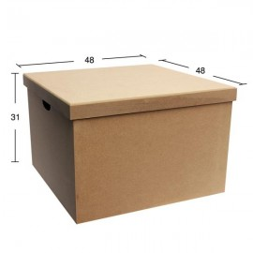 Κουτί τετράγωνο βάφτισης