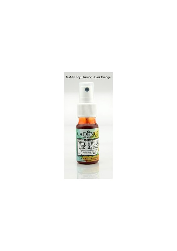 Mix media Spray ink - Dark Orange 25 ml