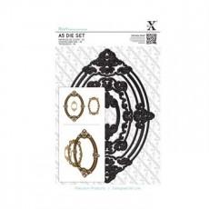 Μήτρες - Ornate frames oval 3 τμχ.