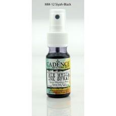 Mix media Spray ink - Black 25 ml