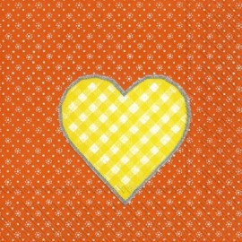 LOVELY DOTTY orange