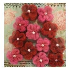 Διακοσμητικά λουλούδια 12 τμχ.