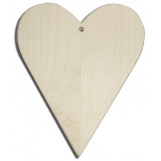 Ξύλινη καρδιά 16Χ20Χ1,2 εκ