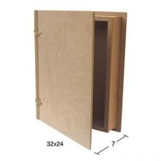 Κουτί βιβλίο 32X24X7
