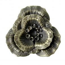 Μεταλλικό λουλούδι 3 τμχ