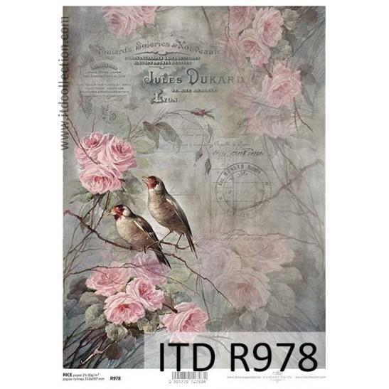 Ριζόχαρτο ITD Collection, 21x29cm R978