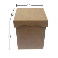 Κουτί με καπάκι 13Χ13Χ14 εκ.