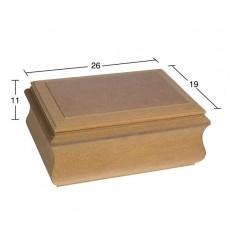 Ορθογώνιο κουτί 26Χ19Χ11 εκ.