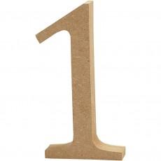 Ξύλινο Γράμμα 8cm - 1