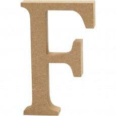Ξύλινο Γράμμα 8cm - F