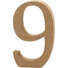 Ξύλινο Γράμμα 8cm - 9