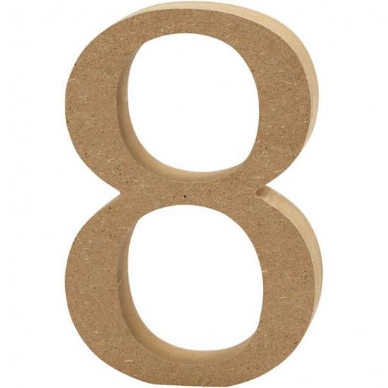 Ξύλινο Γράμμα 8cm - 8