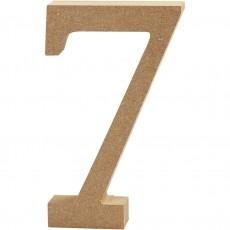 Ξύλινο Γράμμα 8cm - 7