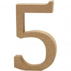 Ξύλινο Γράμμα 8cm - 5