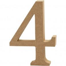 Ξύλινο Γράμμα 8cm - 4