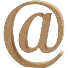 Ξύλινο Γράμμα 8cm - @