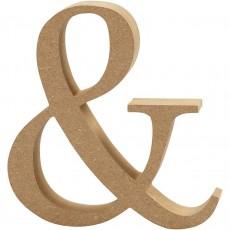 Ξύλινο Γράμμα 8cm - &