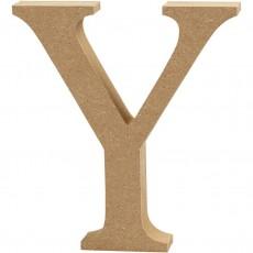 Ξύλινο Γράμμα 8cm - Y
