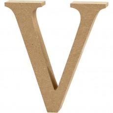 Ξύλινο Γράμμα 8cm - V