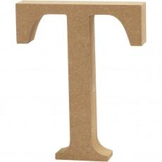 Ξύλινο Γράμμα 8cm - T