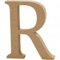 Ξύλινο Γράμμα 8cm - R