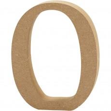 Ξύλινο Γράμμα 8cm - O