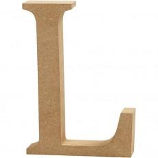 Ξύλινο Γράμμα 8cm - L