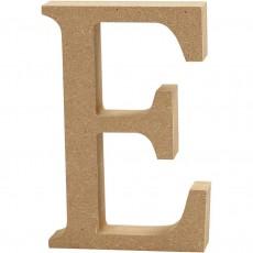 Ξύλινο Γράμμα 8cm - E