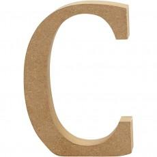 Ξύλινο Γράμμα 8cm - C