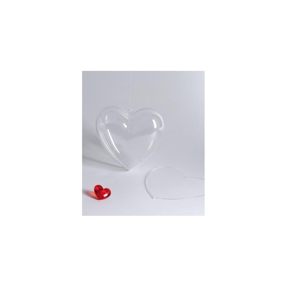 Καρδιά plexiglass 10 εκ.