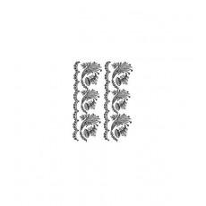 Lace transfer black 25X35