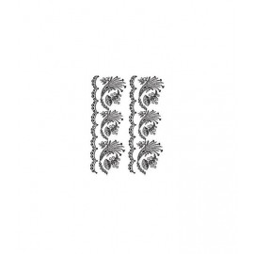Lace transfer white 25X35