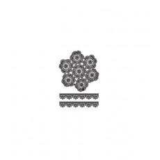Lace Μαυρο 35X50