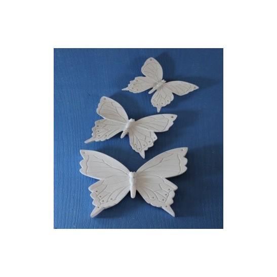 πολυεστερικές πεταλούδες 3 τμχ.