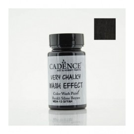 Very chalky wash effect - Black 90 ml