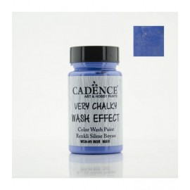 Very chalky wash effect - Purple blue 90 ml