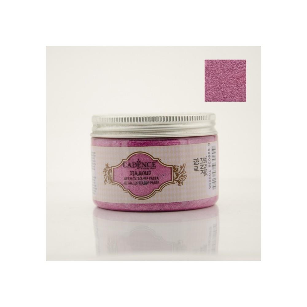 Diamond Metallic Paste Pink